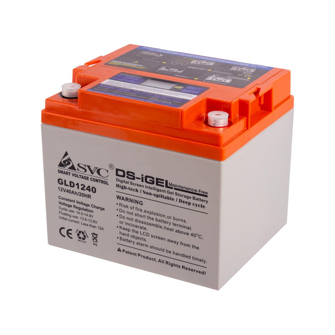 Батарея гелевая SVC GLD1240 (12В, 40 Ач)