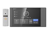 Комплект видеодомофона KCV-T701SM(B) + KC-MC20 (D1) Kocom