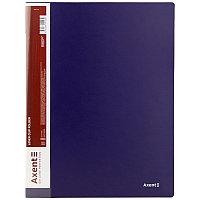 Папка с зажимом А4 Axent 1301 синяя