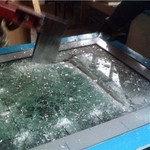 Бронированое пулистойкое стекло класса БР1, фото 2
