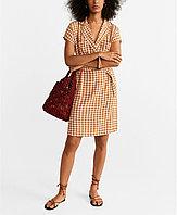 Mango Женское платье в клетку 2000000398105