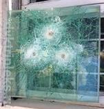 Бронированое пулистойкое стекло класса БР1, фото 3