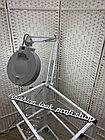 Лампа лупа на струбцине, фото 2