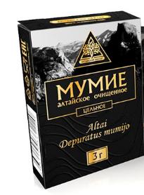 Мумиё «Алтайский нектар» цельное, 3гр