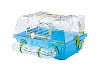 Бокс-клетка для грызунов Savic Spelos Metro с лабиринтом (голубая)