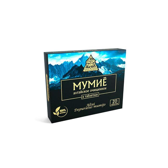 Мумиё «Алтайский нектар», 20таб