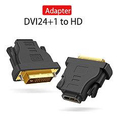 Переходник DVI-D(m) на HDMI(f) VEGGIEG, фото 3
