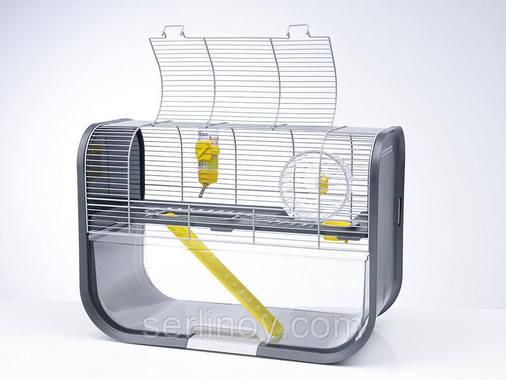 Клетка для грызунов Savic Geneva (серебро-антрацит) - фото 3