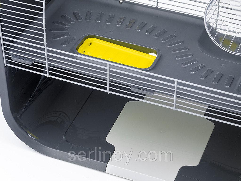 Клетка для грызунов Savic Geneva (серебро-антрацит) - фото 4