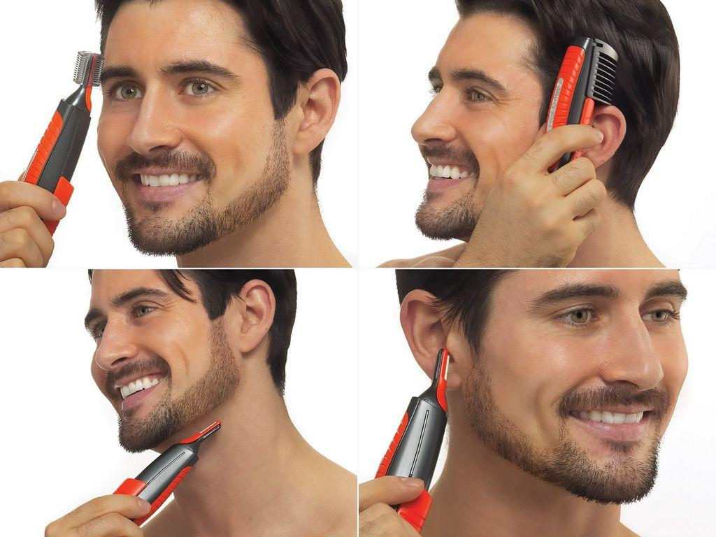 Триммер для удаления волос MicroTouch Switchblade. С Днем Автомобилиста!