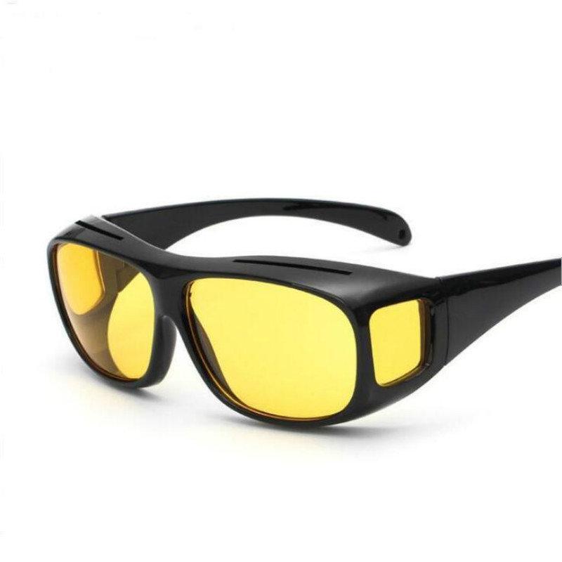 Антибликовые очки для ночного вождения. С Днем Автомобилиста!