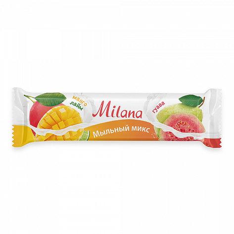 Мыло туалетное Milana мыльный микс манго и лайм & гуава , фото 2
