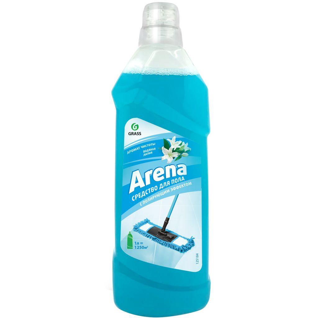 Средство для пола с полирующим эффектом ARENA водная лилия