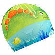Очки  шапочка для плавания детские  дино, фото 2