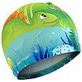Очки  шапочка для плавания детские  дино, фото 4