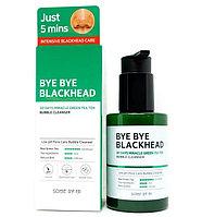 Кислородное очищающее средство против чёрных точек Some By Mi Bye Bye Blackhead Bubble Cleanser, фото 1