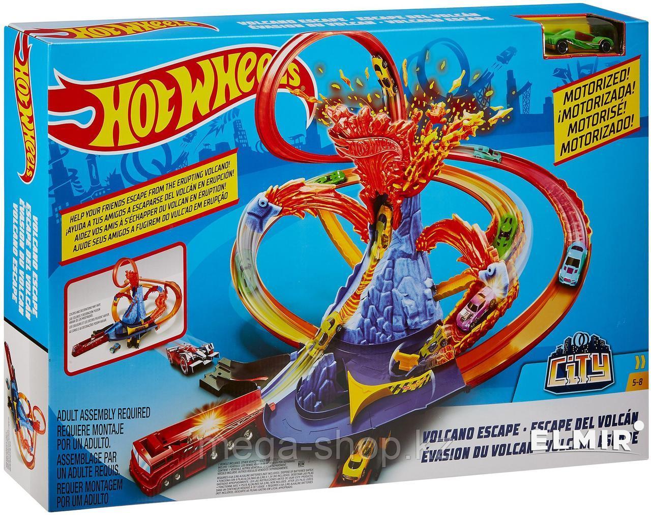 Трек Вулкан Hot Wheels volcano escape