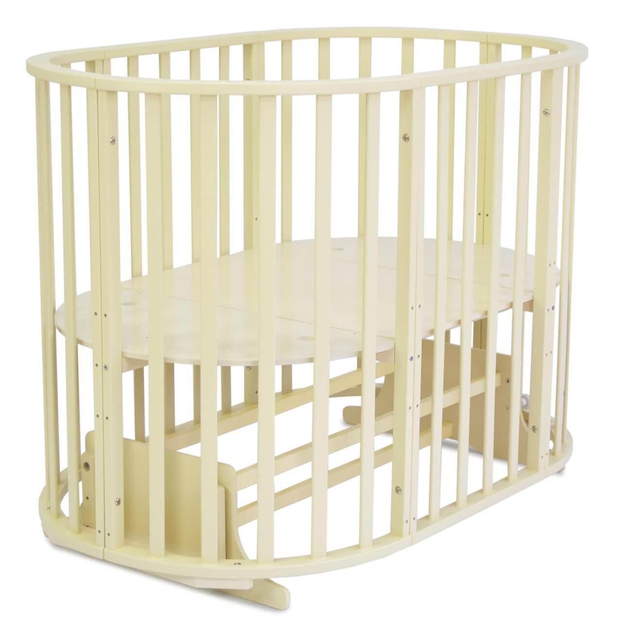 СКВ-10 Кровать детская универсальная (цвет бежевый)
