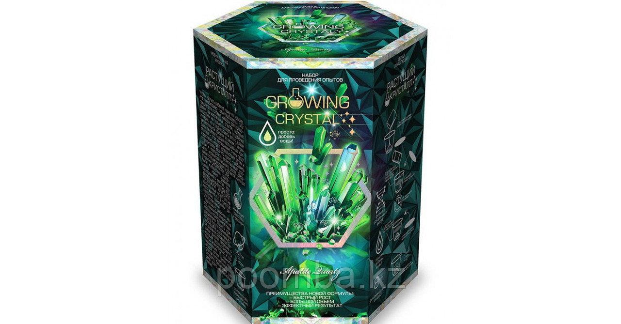 """Набор для проведения опытов """"Growing CRYSTAL Apatite"""" Выращиваем кристаллы"""