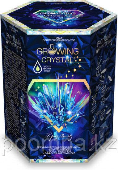 """Набор для проведения опытов """"Growing CRYSTAL Topaz"""" Выращиваем кристаллы"""
