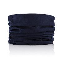 Многофункциональный шарф, синий, Длина 25 см., ширина 0,2 см., высота 50 см., P453.025