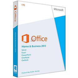 ПО Microsoft Office Home and Business 2013 Box (Rus)