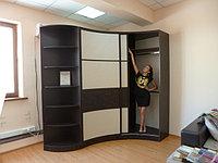 Радиусные шкафы купе – это новинка в дизайне жилых помещений