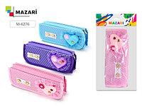 Пенал на молнии -Heart- Mazari M-6276
