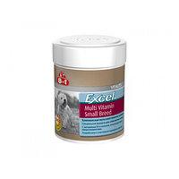Мультивитамины 8in1 Excel для взрослых собак мелких пород, 70 таб. (комплект из 2 шт.)