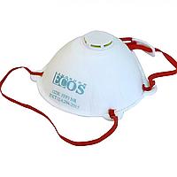 Респиратор полумаски фильтрующие ECOS РО 1213 FFP3 NR с клапаном выдоха