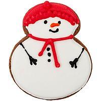 Печенье Sweetish Snowman, красное