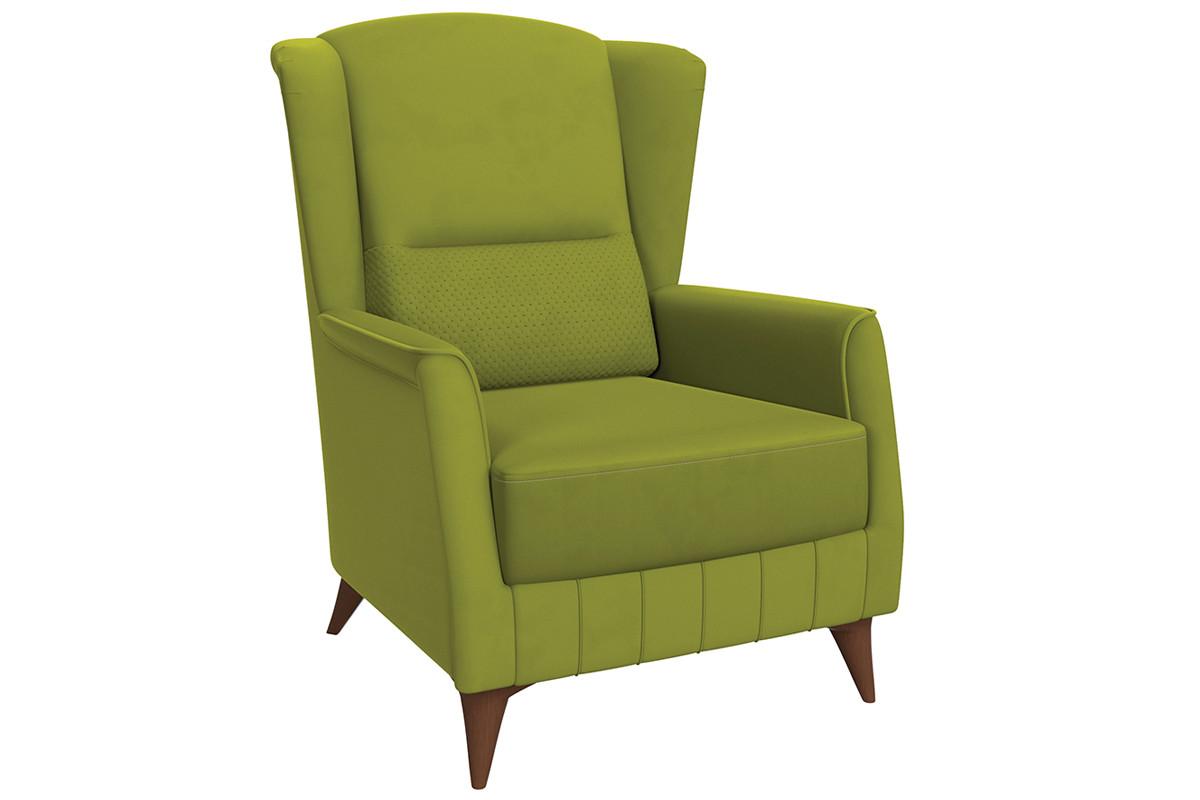 Кресло традиционное Эшли, ТД194 Зеленый, Нижегородмебель и К (Россия)