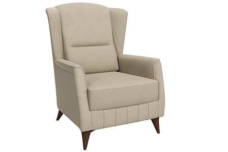 Кресло традиционное Эшли, ТД193 Бежевый, Нижегородмебель и К (Россия), фото 2