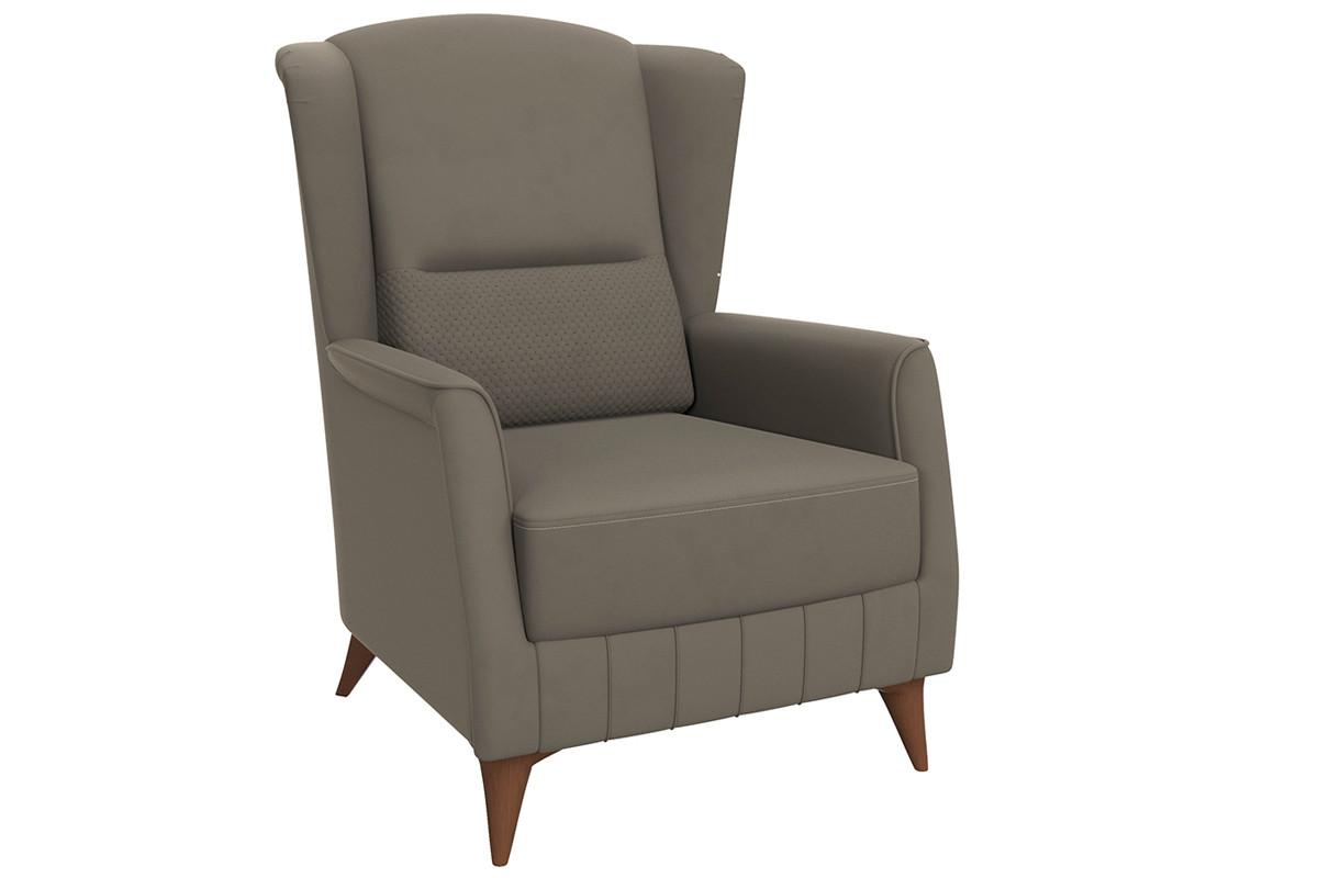 Кресло традиционное Эшли, ТД192 Серый, Нижегородмебель и К (Россия)