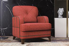 Кресло традиционное Черри, ТК178 Красный, Нижегородмебель и К (Россия), фото 3