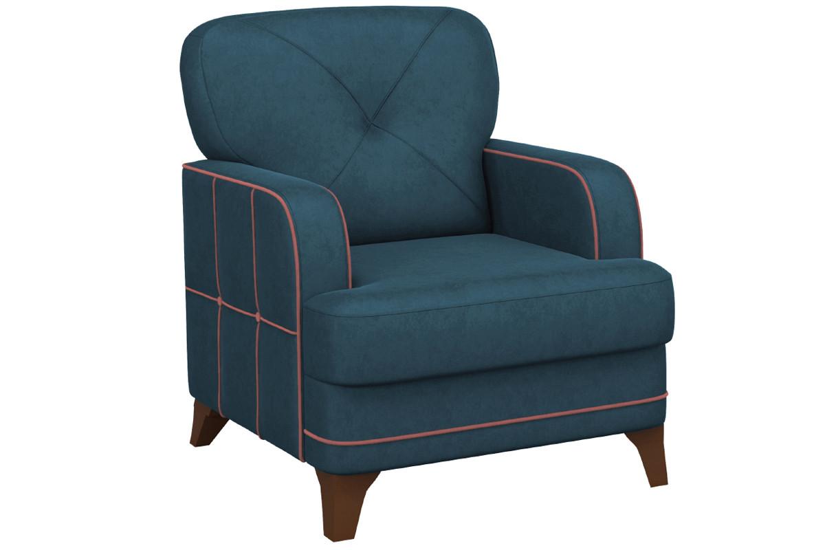 Кресло традиционное Черри, ТК176 Синий, Нижегородмебель и К (Россия)