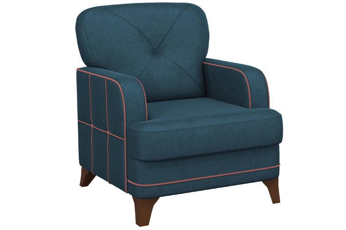 Кресло традиционное Черри, ТК176 Синий, Нижегородмебель и К (Россия), фото 2