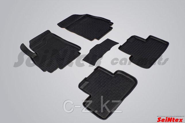 Резиновые коврики с высоким бортом для Chevrolet Orlando 2011-н.в., фото 2