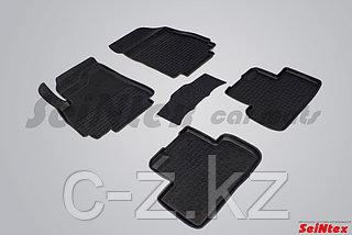 Резиновые коврики с высоким бортом для Chevrolet Orlando 2011-н.в.