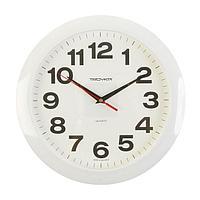 "Часы настенные круглые ""Классика"", белый циферблат, 29х29 см"
