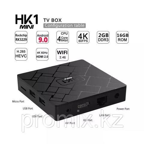 Смарт приставка для телевизора OTT HK1 2/16 GB - фото 4
