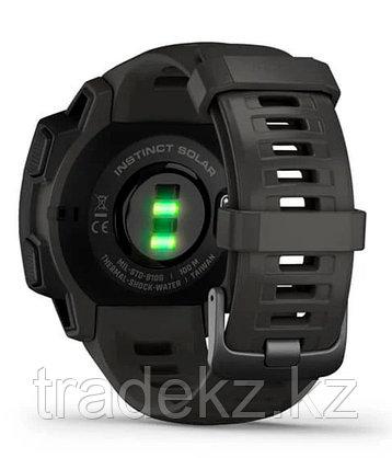 Часы для спорта Garmin Instinct Solar, GPS Watch, Graphite, WW, (010-02293-00) с GPS навигатором, фото 2