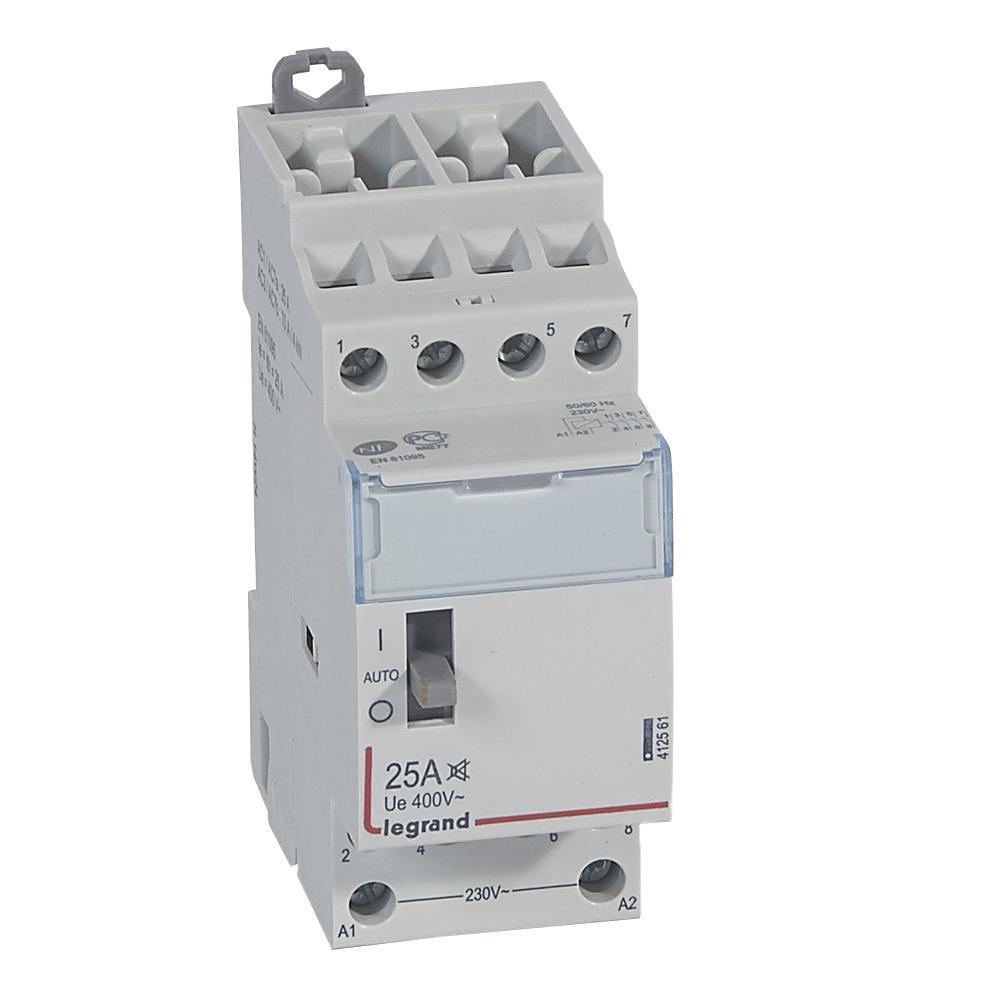 Сх3 Контактор 230V 4HO 25A с ручным управлением