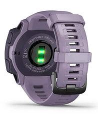 Часы для спорта Garmin Instinct Solar, GPS Watch, Orchid, WW, (010-02293-02) с GPS навигатором, фото 3
