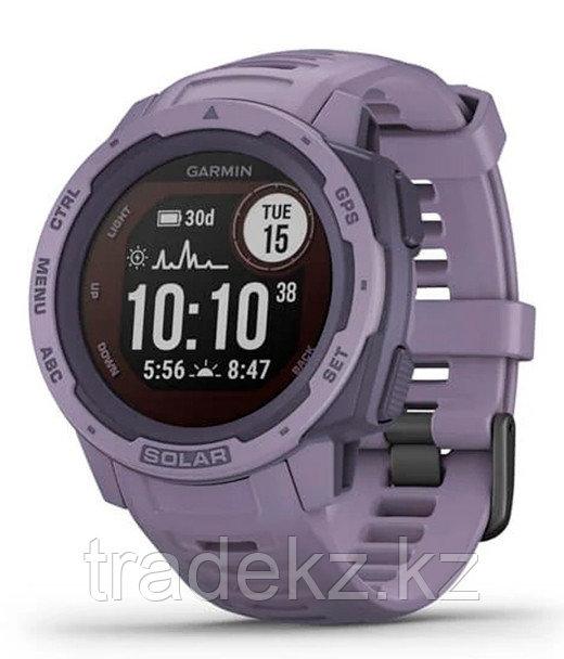 Часы для спорта Garmin Instinct Solar, GPS Watch, Orchid, WW, (010-02293-02) с GPS навигатором