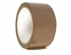 Скотч ширина рулона 48мм, намотка 200м коричневый
