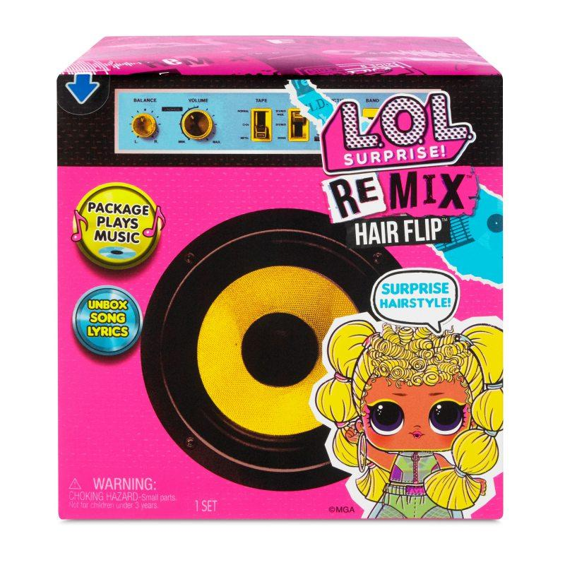 LOL Remix Hair Flip Кукла ЛОЛ Ремикс Музыкальный Сюрприз с волосами
