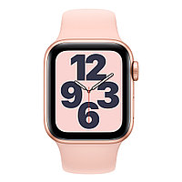 Смарт-часы Apple Watch SE 40mm Sport Band Черный, Серебристый, золотой Золотой