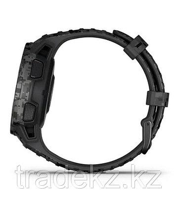 Часы для спорта Garmin Instinct Solar, Tactical Edition, Graphite Camo, WW, (010-02293-05) с GPS навигатором, фото 2