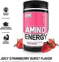 Аминокислоты Amino Energy - 30 порций (Optimum Nutrition) Клубника